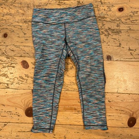 Zella Multicolor 3/4 Crop Yoga Pants